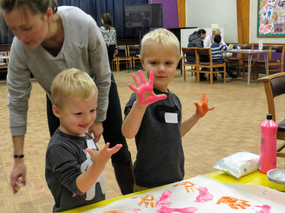 It's called Messy Church for a reason
