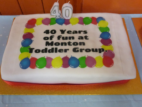 Monton Toddlers group celebrate 40th Anniversary