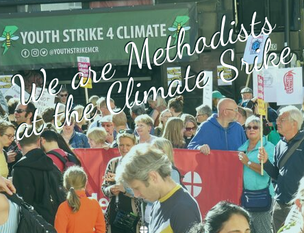 We are Methodists at the Climate Strike