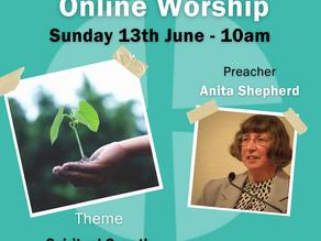 Sunday 13th June 2021 - Spiritual Growth