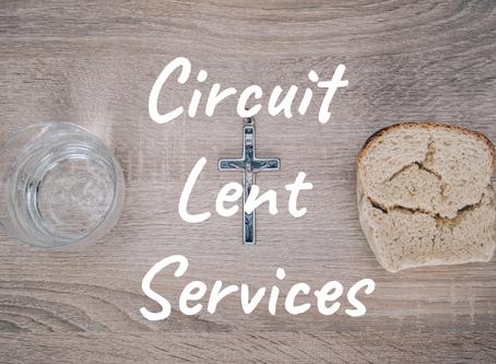 Circuit Lent Services 2019