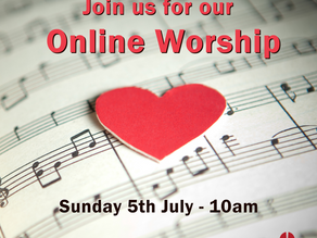 Sunday 5th July 2020 - Singing God's Love Songs