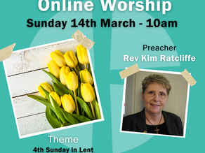 Sunday 14th March 2021 - 4th Sunday in Lent - Mothering Sunday