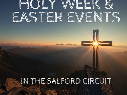 Holy Week & Easter Events 2019