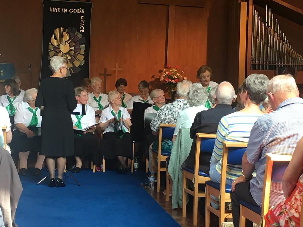The Evergreens Choir at Wesley Methodist Church