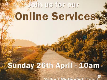 Worship - Sunday 26th April 2020