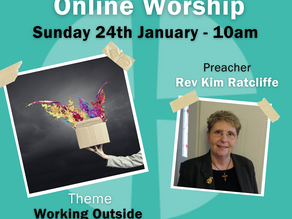 Sunday 24th January 2021 - Working Outside The Box