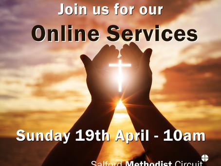 Worship - Sunday 19th April 2020