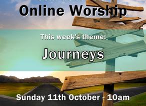 Sunday 11th October 2020 - Journeys