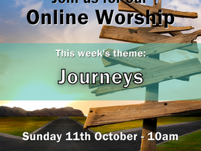 Sunday 11th October 2020 - Journeys