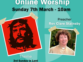 Sunday 7th March 2021 - 3rd Sunday in Lent - Meek and Mild... As If!
