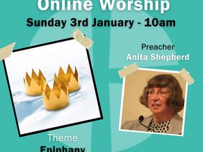 Sunday 3rd January 2021 - Epiphany