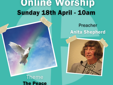 Sunday 18th April 2021 - The Peace Of Christ