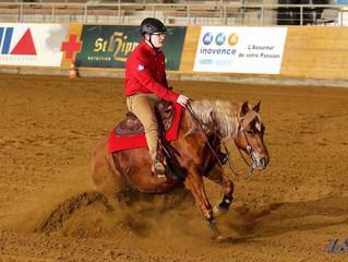 NRHA CH Spring Slide @ Horse Academy, Mooslargue