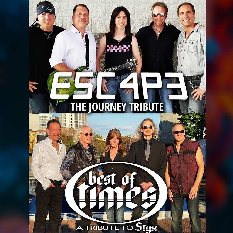 E5C4P3 Journey Tribute + Best of Times STYX Tribute