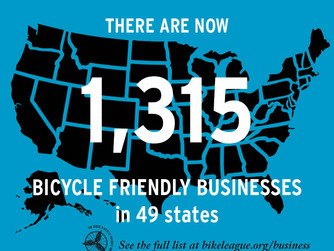 AnneeLondon: Awarded SILVER Level Bicycle Friendly Business Status