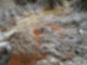 Felssturz Untersberg 2015 - im Bachlauf