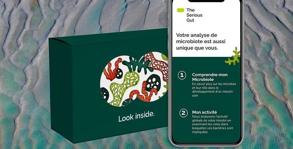 Kit d'analyse de microbiote + recommandations