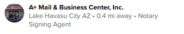 a+ mail and business center recommends k