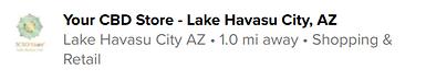 your cbd store lake havasu recommends ke