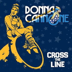 Donna Cannone release debut single - 'Cross the Line'