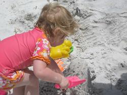 Sand castle time