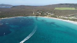 Cheynes Beach from the air