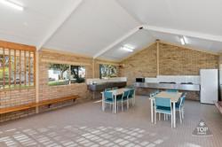 Campers kitchen