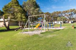 Caravan park playground