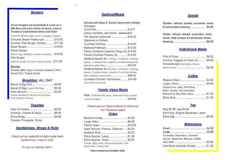 menu October 2020 no map CURRENT 2nd pag