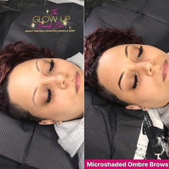 📌 Microshaded Ombré Brows are similar t
