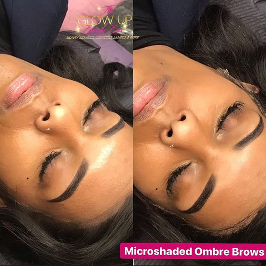 💥🎈Swipe to see the brow transformation