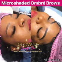 ‼️My client recently had Microblading do