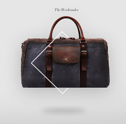 The weekender with single exterior pocket