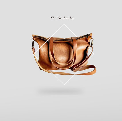 The Sri Lanka Leather Tote