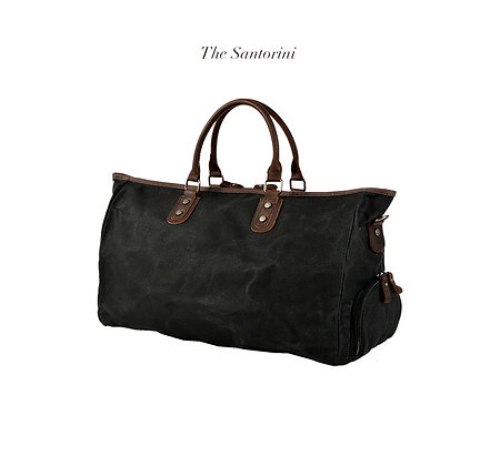 The Santorini Travel Duffle