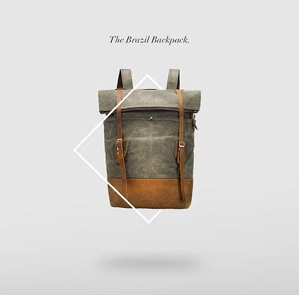 The Brazil Backpack Waxed