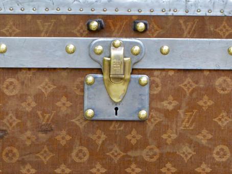 Les toiles chez Louis Vuitton