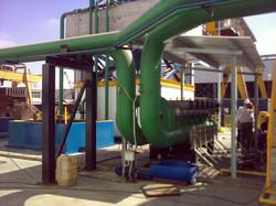 Filter air pabrik makanan