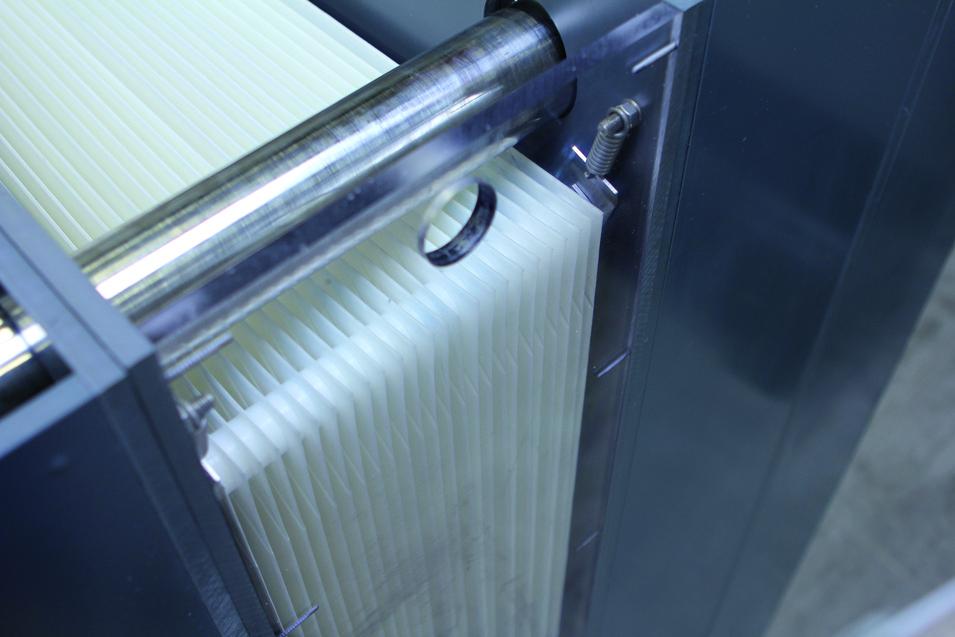 Flat sheet MBR