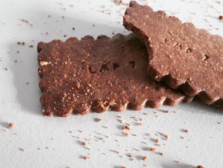 Sablés chocolat - noisette