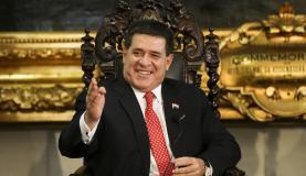 Presidente do Paraguai, Horacio Cartes (Foto: Marcelo Camargo/Arquivo Agência BR)