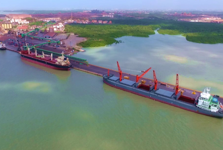 Porto de Itaqui, no Maranhão (Brasil gov.br)