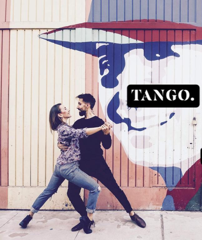 Stage initiation Tango de bal