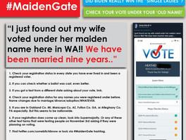 #MaidenGate