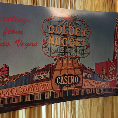 Golden Nugget Casino Postcard