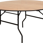 """Round Banquet Tables: Can be in 60"""", 66"""", 72"""", 48"""" or 36"""" diameter."""