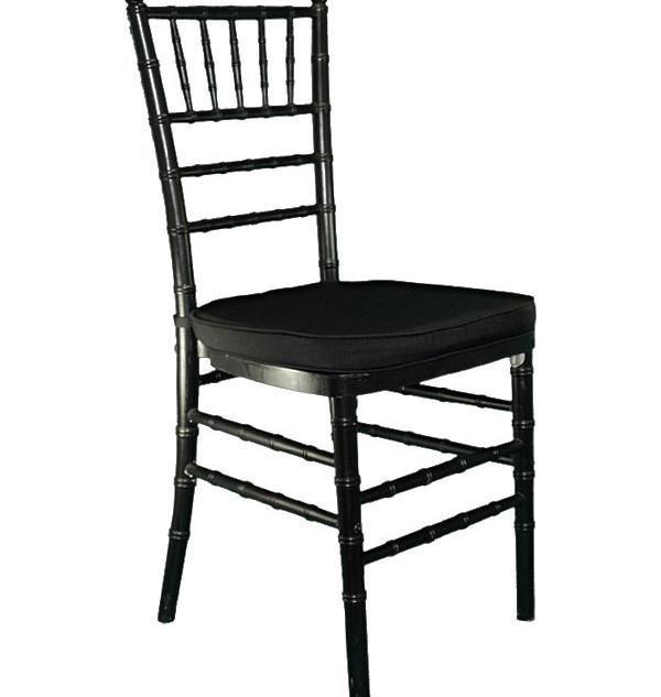 Chiavari Chair: Black: $9.00