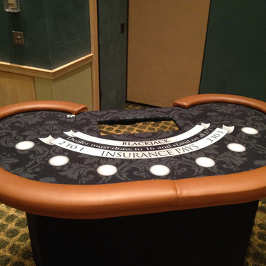 Custom Black Jack Table