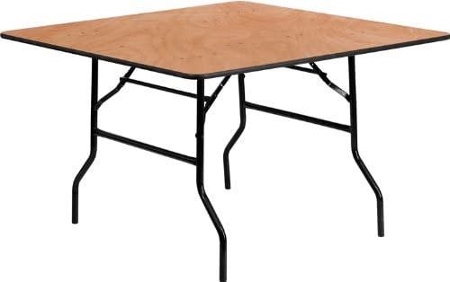 "Round Banquet Tables: Can be 60"" and 30"" square."